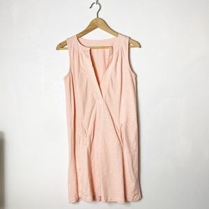 J. Crew Dresses - J Crew pink sleeveless cotton dress